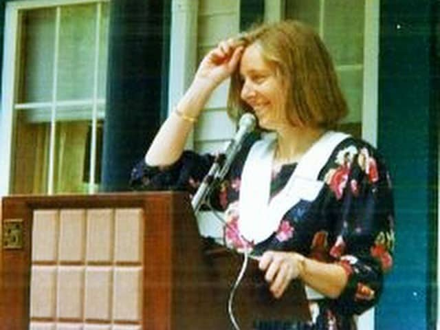 Pam Michell in 1991